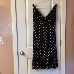 American Living Polkadot sleeveless dress